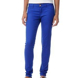 H&M Blue Skinny Twill Pants